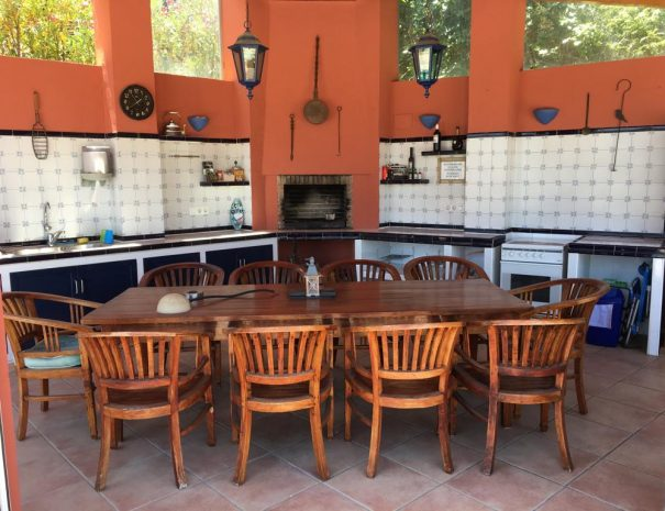 Villa Paloma Blanca Outdoor kitchen
