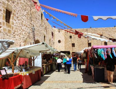 MEDIEVAL MARKET IN THE CASTLE OF SANTA POLA (2)